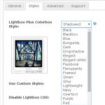 Lightbox Plus Colorbox. Styles