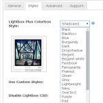 Lightbox Plus Colorbox. Styles
